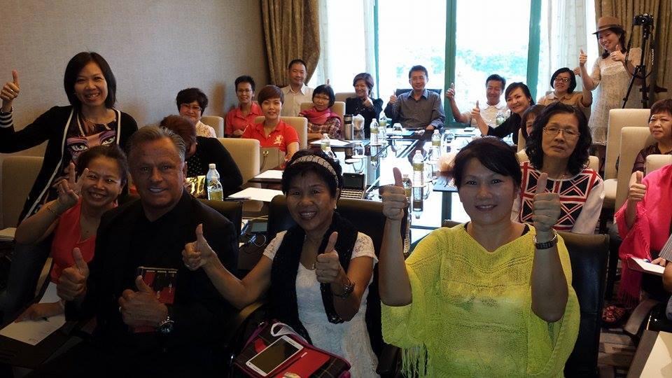 HMG Team - Brad Hager, Marcia Hager, Moon Loh, James Yap